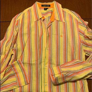 Ralph Lauren 98% OFF!! Linen Shirt